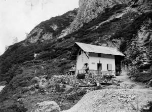 Il primo rifugio Anni 50-70
