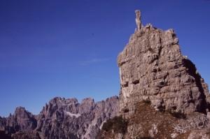 Il Mus di Brica, lungo il Troj dai Sclops